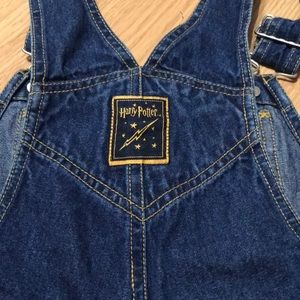 Harry Potter Other - Harry Potter Kids Jeans coveralls Size 7
